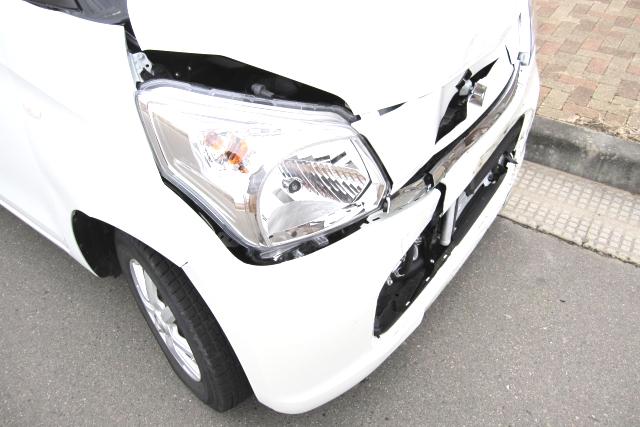 車をぶつけられた場合の買い替え