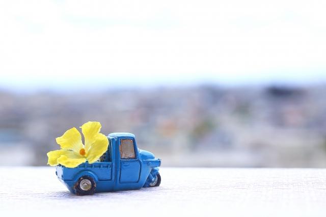 トラックの廃車
