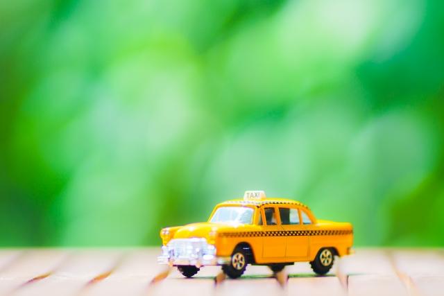 タクシーの廃車