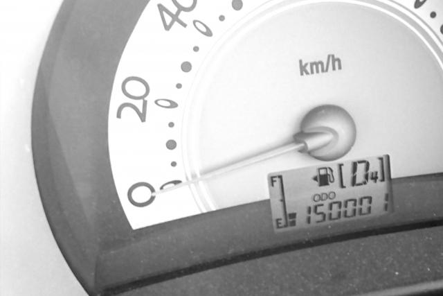 15万キロの中古車